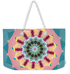 Weekender Tote Bag featuring the photograph New Color Wheel by Shirley Moravec