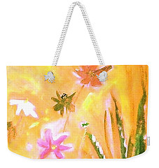 New Daisies Weekender Tote Bag by Winsome Gunning