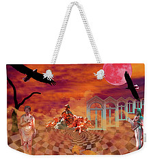 Weekender Tote Bag featuring the photograph New Dawn by Ken Frischkorn
