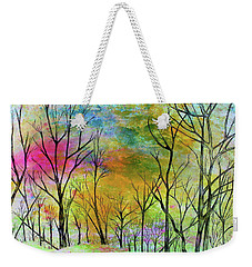 New Dawn New Day New Life Weekender Tote Bag