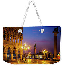 Weekender Tote Bag featuring the photograph New Day At St. Marks by Andrew Soundarajan