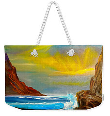 New Day In Paradise Weekender Tote Bag