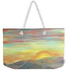 New Day Weekender Tote Bag