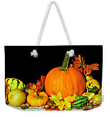 New England Autumn Weekender Tote Bag
