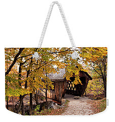 New England College No. 63 Covered Bridge  Weekender Tote Bag