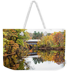 New England Covered Bridge No.63 Weekender Tote Bag