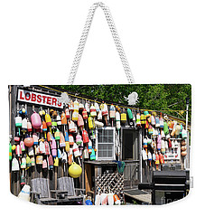 New England Lobster Shack Weekender Tote Bag