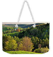 Weekender Tote Bag featuring the photograph New England Spring by Alan L Graham
