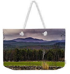Weekender Tote Bag featuring the photograph New England Spring In Oil by Mark Myhaver