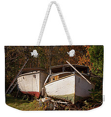 New England Yard Art Weekender Tote Bag