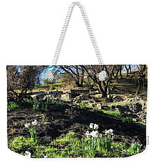 New Growth From Sandra Rosa Fires Weekender Tote Bag