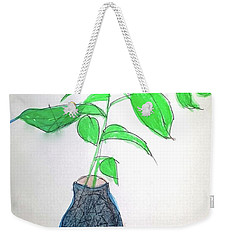 New Growth New Beginnings Weekender Tote Bag