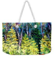 New Growth Tree Line Weekender Tote Bag