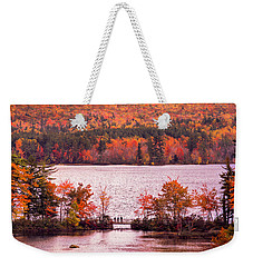 New Hampshire Fall Weekender Tote Bag