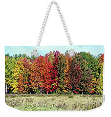 New Hampshire's True Colors Weekender Tote Bag by Joseph Hendrix