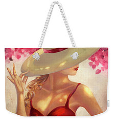 New Hat Weekender Tote Bag
