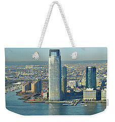 New Jersey Skyline Weekender Tote Bag