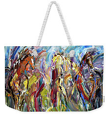 New Kid In The Barn Weekender Tote Bag