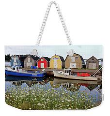 New London Wharf, P.e.i. Weekender Tote Bag