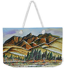 New Mexico Back Country Weekender Tote Bag