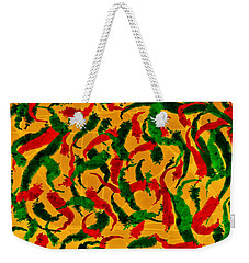 New Mexico Chili Art Weekender Tote Bag