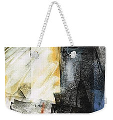 Weekender Tote Bag featuring the painting New Mexico Horse Art by Frances Marino