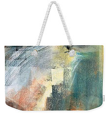 Weekender Tote Bag featuring the pastel New Mexico Horse Three by Frances Marino