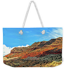 Weekender Tote Bag featuring the photograph New Mexico Landscape by Gina Savage