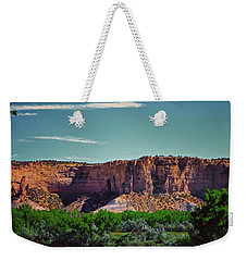 New Mexico Mountains 004 Weekender Tote Bag by George Bostian