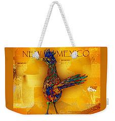 New Mexico Roadrunner Weekender Tote Bag
