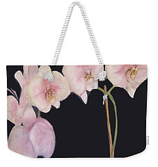 New Orchids Weekender Tote Bag by Vickie G Buccini