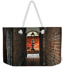 New Orleans Alley Weekender Tote Bag