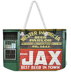 New Orleans Beer Parlor Weekender Tote Bag