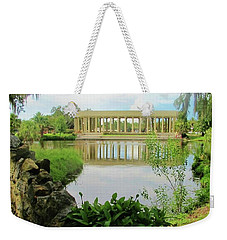 New Orleans City Park Peristyle From Goldfish Island Weekender Tote Bag by Deborah Lacoste