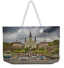 New Orleans Jackson Square Weekender Tote Bag
