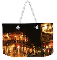 New Orleans Jazz Night Weekender Tote Bag