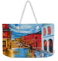 New Orleans Parade Weekender Tote Bag