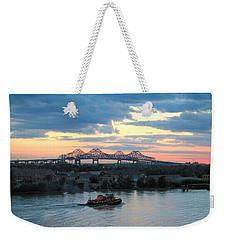 New Orleans Riverfront Weekender Tote Bag