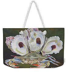 New Orleans Still Life Weekender Tote Bag by Phyllis Beiser