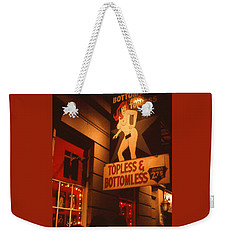 New Orleans Topless Bottomless Sexy Weekender Tote Bag