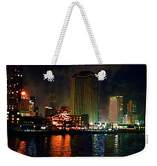 New Orleans Waterfront Weekender Tote Bag