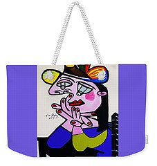 New Picasso  Bug Eye Weekender Tote Bag