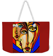 New Picasso By Nora Friends Weekender Tote Bag by Nora Shepley