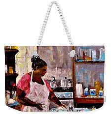 New Recipe.. Weekender Tote Bag by Cristina Mihailescu