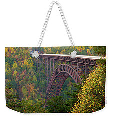 New River Gorge Bridge Weekender Tote Bag