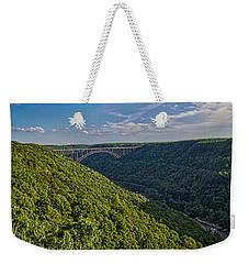 New River Panoramic Weekender Tote Bag