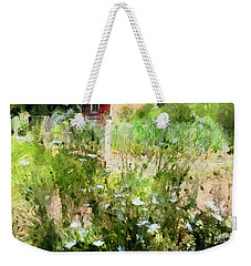 Weekender Tote Bag featuring the photograph New Roots by Claire Bull
