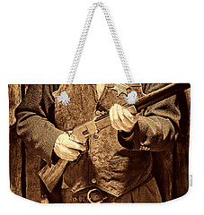 New Sheriff In Town Weekender Tote Bag by American West Legend By Olivier Le Queinec