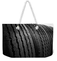 New Truck Tires Weekender Tote Bag