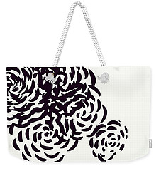 Floral Essence Weekender Tote Bag by Anita Lewis